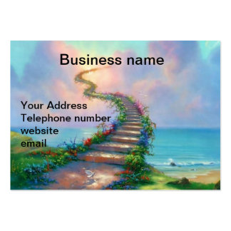 Child Care Stairway Business Cards