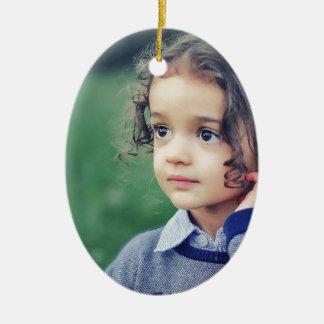 child ceramic ornament