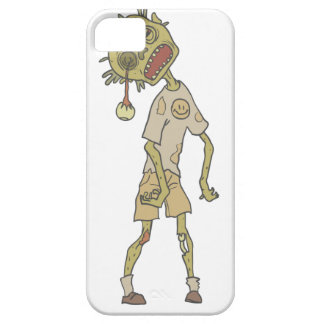 Child Creepy Zombie With Rotting Flesh Outlined iPhone SE/5/5s Case