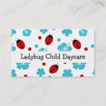 Child Daycare Business Cards