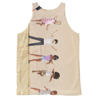 Child Development with Children Learning All-Over Print Tank Top