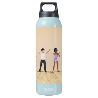 Child Development with Children Learning Insulated Water Bottle