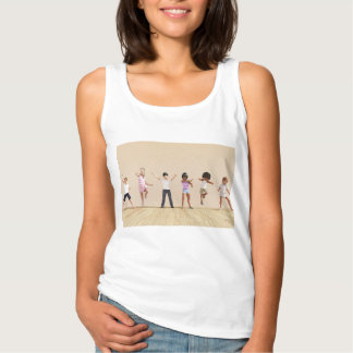 Child Development with Children Learning Tank Top