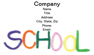Early childhood education business cards zazzle child education and school business card colourmoves