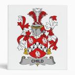 Child Family Crest Binder