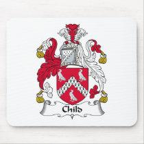 Child Family Crest Mousepad