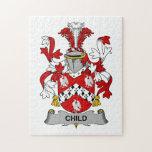 Child Family Crest Puzzle