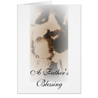 """""""Child"""" Father's Day Card (A Father's Blessing)"""