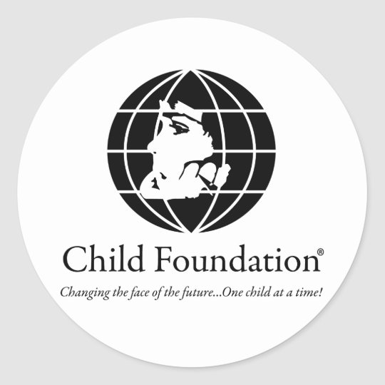 Child Foundation Classic Round Sticker