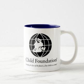 Child Foundation Two-Tone Coffee Mug