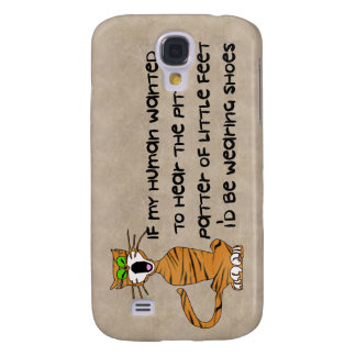 Child-Free Kitty Cat Samsung Galaxy S4 Covers