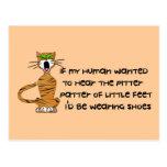 Child-Free Kitty Cat Post Card