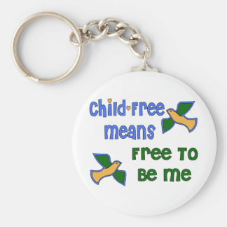 Child-Free Me Keychain