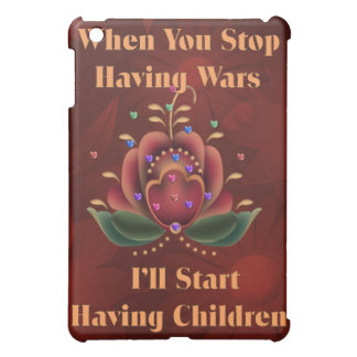 Child-Free Pacifist Case For The iPad Mini