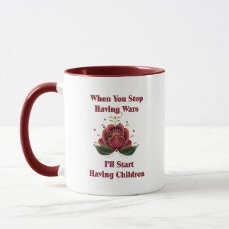 Child-Free Pacifist Mug