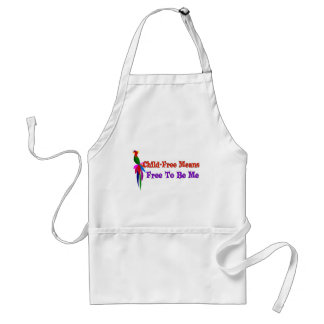Child-Free To Be Me Adult Apron