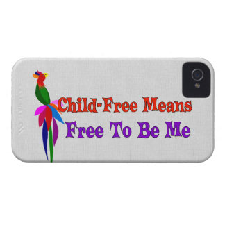 Child-Free To Be Me Case-Mate iPhone 4 Cases
