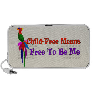 Child-Free To Be Me Mp3 Speakers