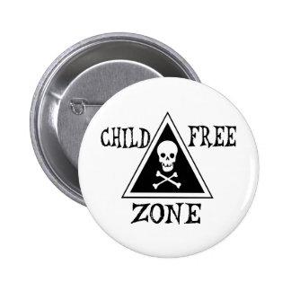 Child-Free Zone Pins