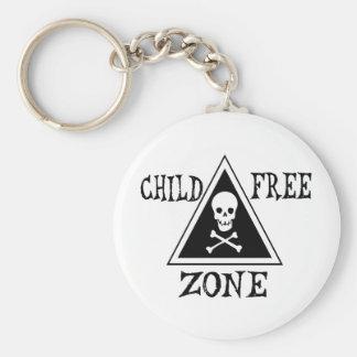 Child-Free Zone Key Chains