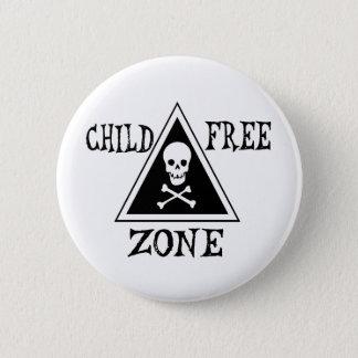 Child-Free Zone Pinback Button
