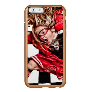 Child Girl Athlete Red Uniform kids soccer Incipio Feather® Shine iPhone 6 Case
