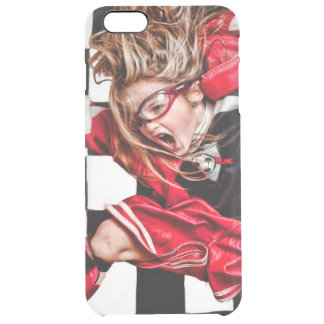 Child Girl Athlete Red Uniform kids soccer Uncommon Clearly™ Deflector iPhone 6 Plus Case