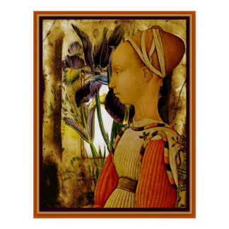Child Goddess Of Peaceful Pursuits Poster