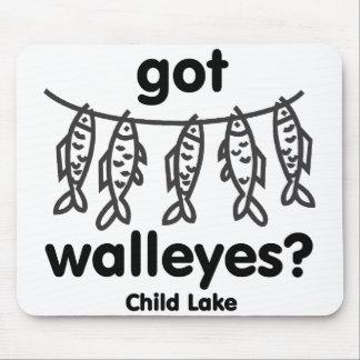 child got walleye mouse pad