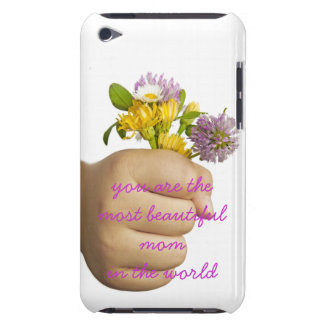 Child Hand Holding Flowers Barely There iPod Case