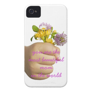 Child Hand Holding Flowers Case-Mate iPhone 4 Case