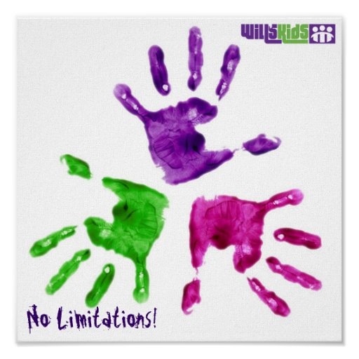 Child Handpainting Poster