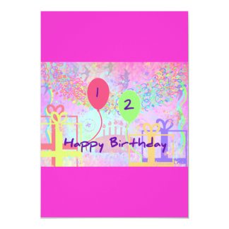 Child Happy Birthday Two Years Old Card