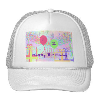 Child Happy Birthday Two Years Old Hats