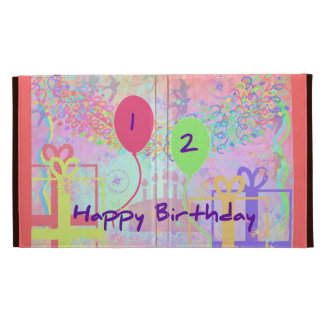 Child Happy Birthday Two Years Old iPad Case