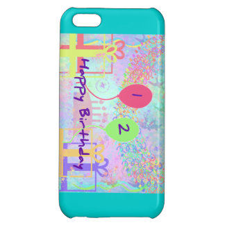 Child Happy Birthday Two Years Old Cover For iPhone 5C