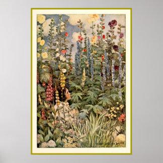 Child in a Garden - Print