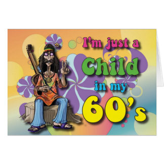 Child in my Sixties Greeting Card
