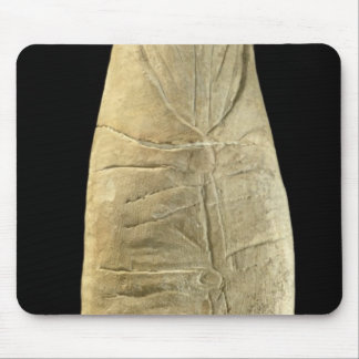 Child in swaddling clothes mousepads