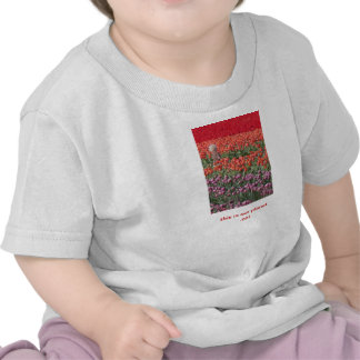 Child in tulip field, sleeper, This is our planet. Shirt