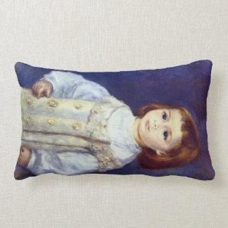 Child in White by Pierre Renoir Throw Pillow