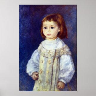 Child in White by Pierre Renoir Print