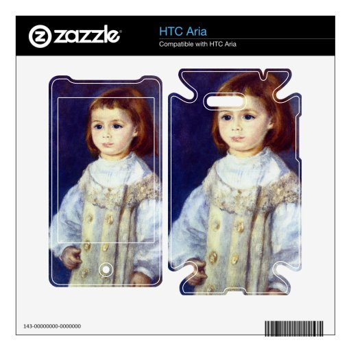 Child in White by Pierre Renoir Skin For The HTC Aria