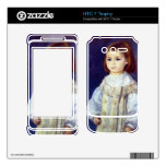 Child in White by Pierre Renoir Decals For HTC 7 Trophy