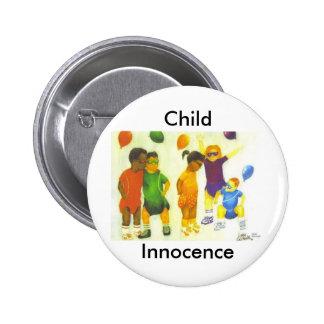 Child Innocence Pinback Button