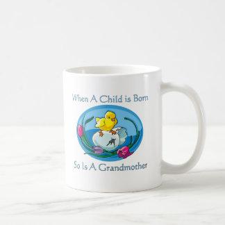 Child Is Born - Grandmother Coffee Mug