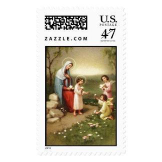 Child Jesus 10B Custom Postage Stamp