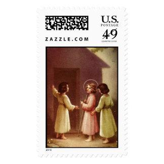 Child Jesus 12B Custom Postage Stamp