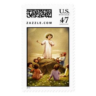 Child Jesus 2B Custom Postage Stamp