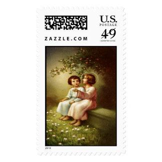 Child Jesus 3B Custom Postage Stamp